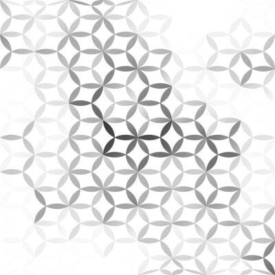 Fotomural Gray fondo blanco de malla, las plantillas del diseño creativo