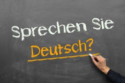 Fotomural ¿Habla usted alemán?