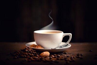 Fotomural Heisser, Frischer Kaffee