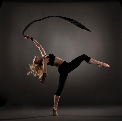 Fotomural hermosa bailarina de ballet