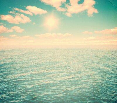 Fotomural Hermoso cielo y mar azul
