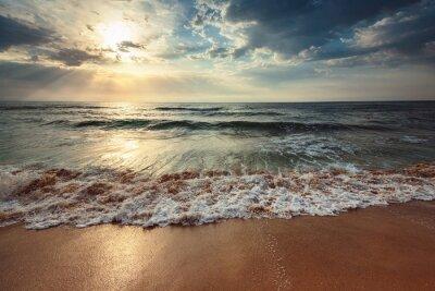 Fotomural Hermoso cloudscape sobre el mar