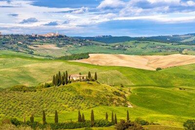 Fotomural Hermoso paisaje en la Toscana, Italia