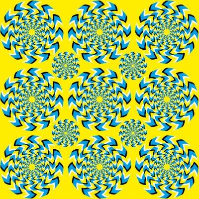 Fotomural Hipnótico de rotación