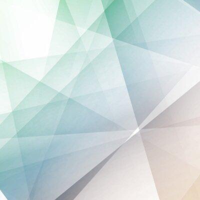 Fotomural Hipster modern transparent geometrical background