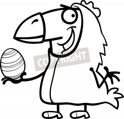 Historieta blanco y negro ilustración de hombre divertido en ...