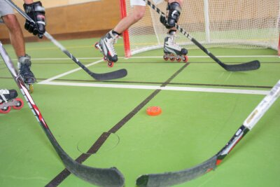 Fotomural Hockey sobre patines