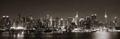 Fotomural Horizonte de Midtown Manhattan