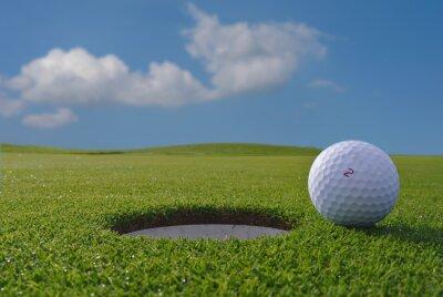 Fotomural hoyo de golf y la bola
