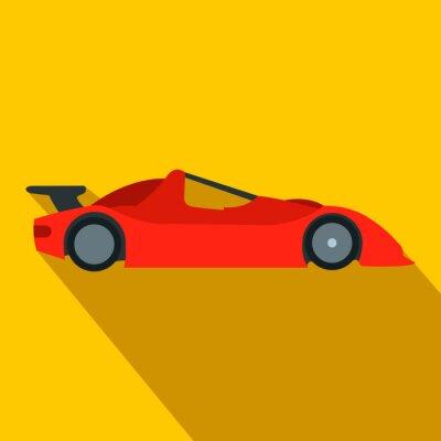Fotomural Icono de coche de carreras