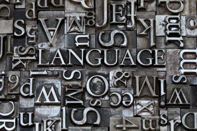 Fotomural idioma