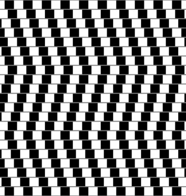 Fotomural ilusión óptica