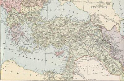 Fotomural Imperio turco vintage