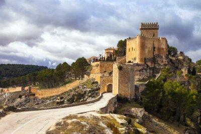 Fotomural Impresionante castillo medieval de Alarcón, España