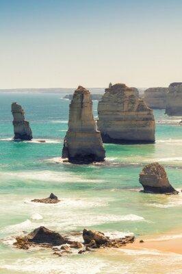Fotomural Impresionante vista aérea de los Doce Apóstoles, Victoria - Australia