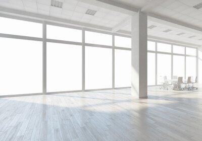 Fotomural Interior blanco de la oficina