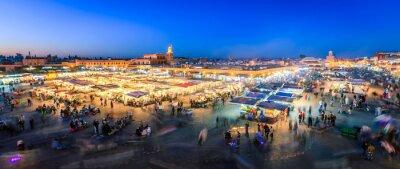 Fotomural Jemaa El Fnaa, Marrakech
