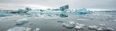Fotomural Jokulsarlon, laguna de los glaciares, Islandia
