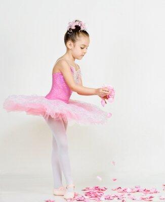 Fotomural joven bailarina