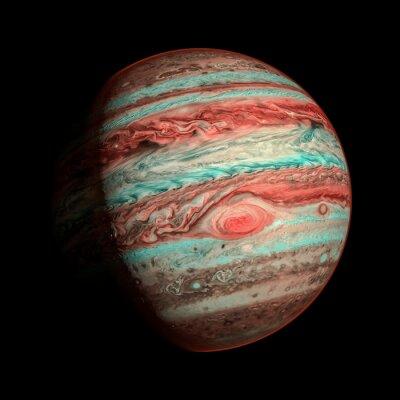 Fotomural Júpiter planeta aislado