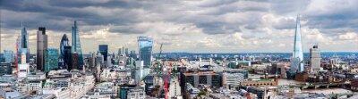 Fotomural La City de Londres Panorama