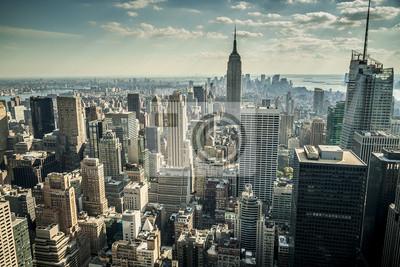 Fotomural La ciudad de Nueva York en los EE.UU.