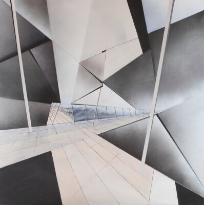 Fotomural La pintura abstracta