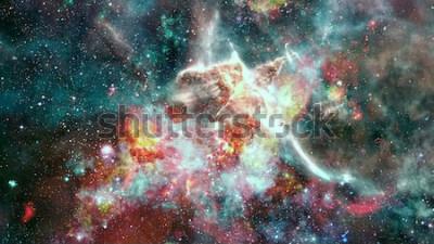 Fotomural La supernova explosión. Nebulosa Estrella Brillante. Galaxia distante. Fuegos artificiales de año nuevo. Imagen abstracta Elementos de esta imagen proporcionada por la NASA.