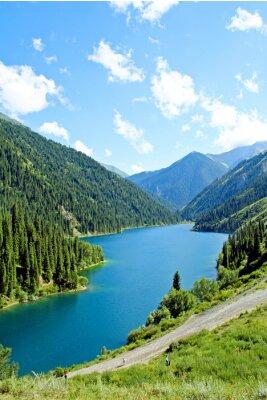 Fotomural Lago de montaña