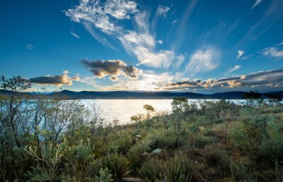 Fotomural Lago Jindabyne en NSW.