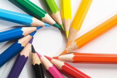 Fotomural Lápiz de color