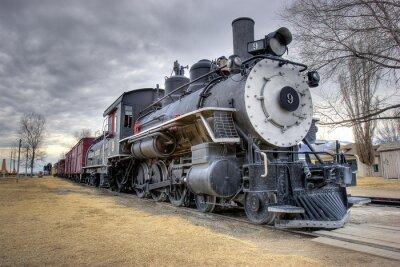Fotomural Leyes de tren