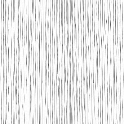 Fotomural Líneas verticales sin fisuras patrón dibujado a mano
