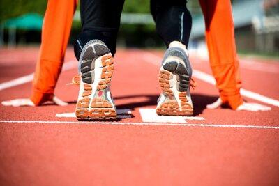 Fotomural Listo para correr