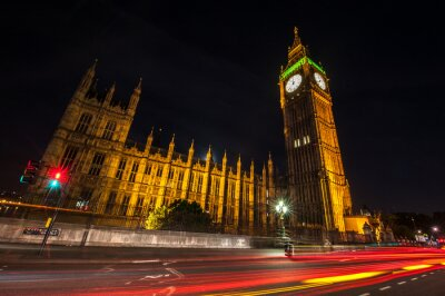 Fotomural Londres Big Ben por la noche