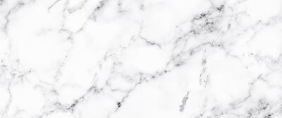 Fotomural Luxury of white marble texture and background for decorative design pattern art work. Marble with high resolution