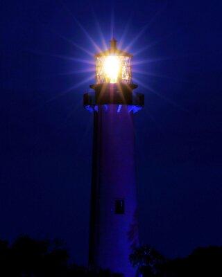Fotomural Luz brillante / faro situado en Jupiter, Florida