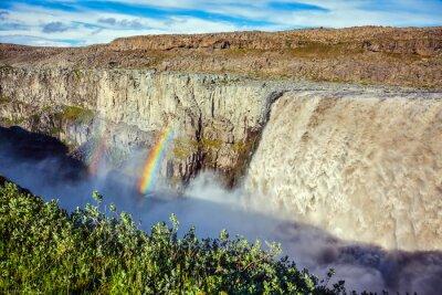 Fotomural Magnífica cascada Dettifoss