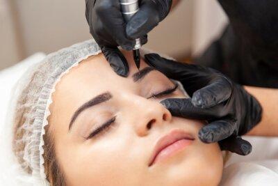 Fotomural Makijaż permanentny brwi - zabieg w salonie piękności