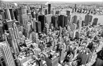 Fotomural Manhattan, Ciudad de Nueva York. EE.UU..