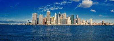 Fotomural Manhattan en un día soleado.