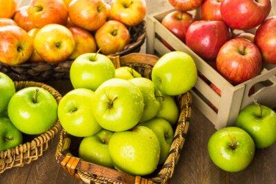 Fotomural Manzanas orgánicas