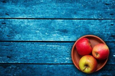 Fotomural Manzanas sobre la mesa