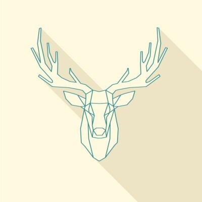 Fotomural marco de ciervos