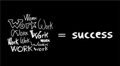Fotomural Mensaje secreto de éxito