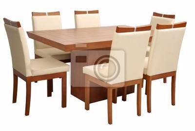 Mesa comedor minimalista fotomural • fotomurales hoy ...