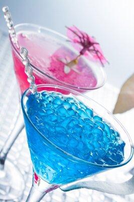 Fotomural Mixología molecular - Cóctel con caviar