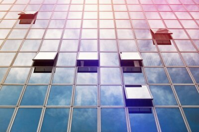 Fotomural Moden Oficina de Negocios de Windows del edificio
