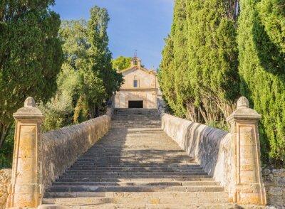 Fotomural Montaña Iglesia Calvario