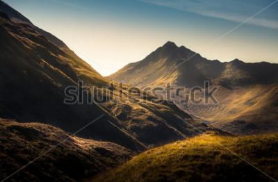 Fotomural Montañas en Highland, Escocia